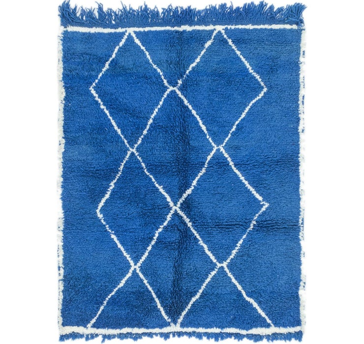 3' 6 x 4' 5 Moroccan Rug