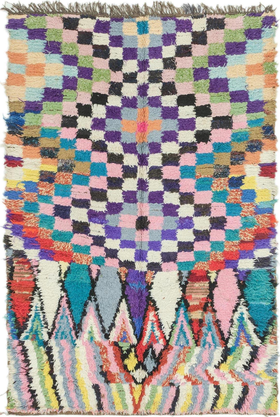 4' 8 x 7' Moroccan Rug main image