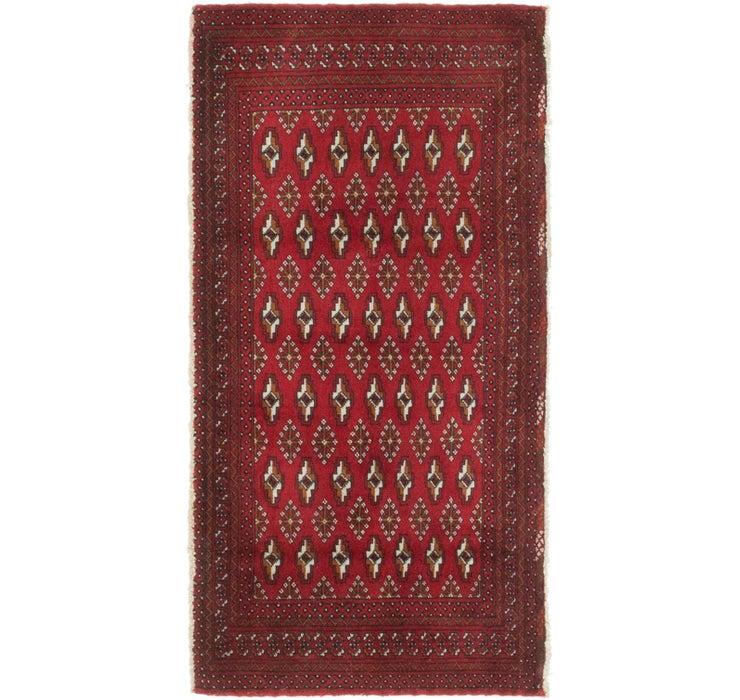 2' 3 x 4' 5 Torkaman Persian Rug
