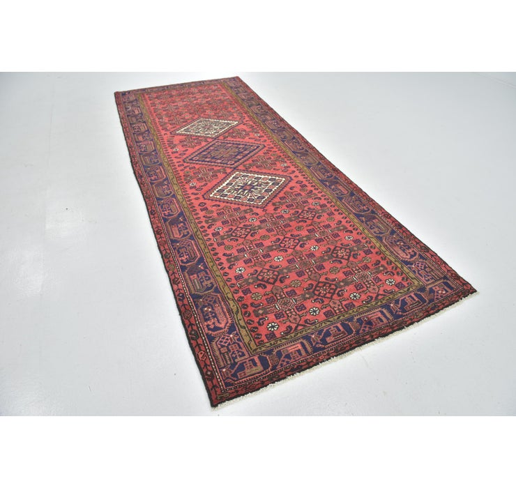 135cm x 350cm Hossainabad Persian Run...