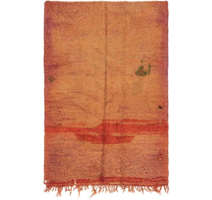 4' 5 x 6' 9 Moroccan Rug