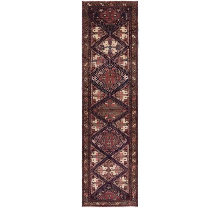 Image of 3' 7 x 13' 8 Saveh Persian Runner Rug