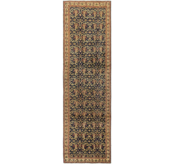 4' x 14' Tabriz Persian Runner Rug