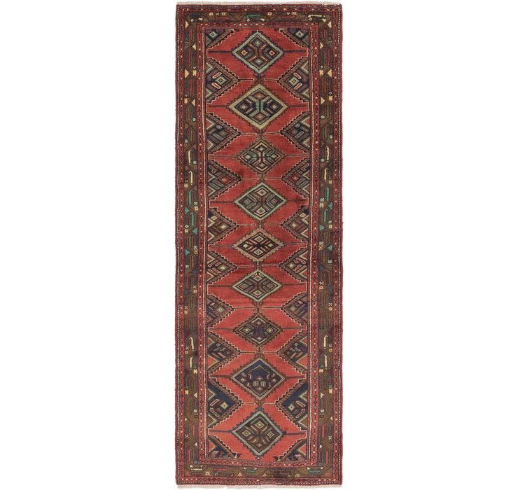 102cm x 315cm Chenar Persian Runner Rug