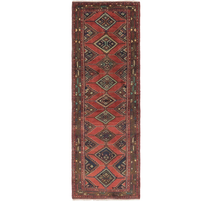 Image of 3' 4 x 10' 4 Chenar Persian Runner Rug