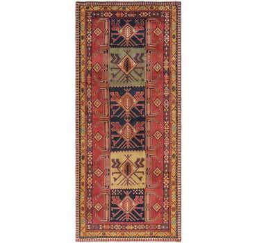 Image of 4' 8 x 10' 7 Ardabil Persian Runner ...