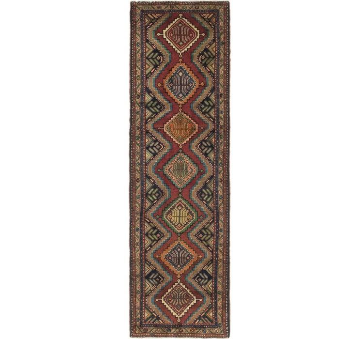 100cm x 330cm Chenar Persian Runner Rug