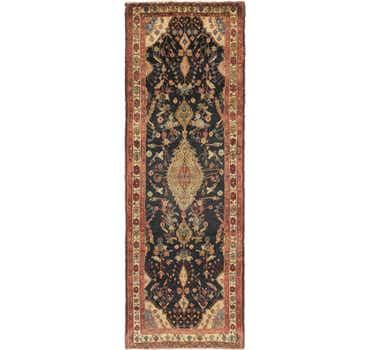Image of 3' 6 x 10' 2 Jozan Persian Runner Rug