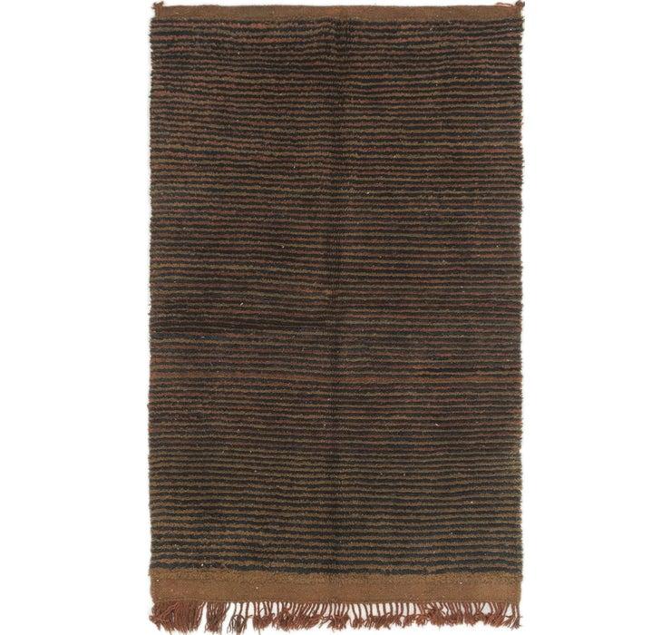 117cm x 188cm Moroccan Rug