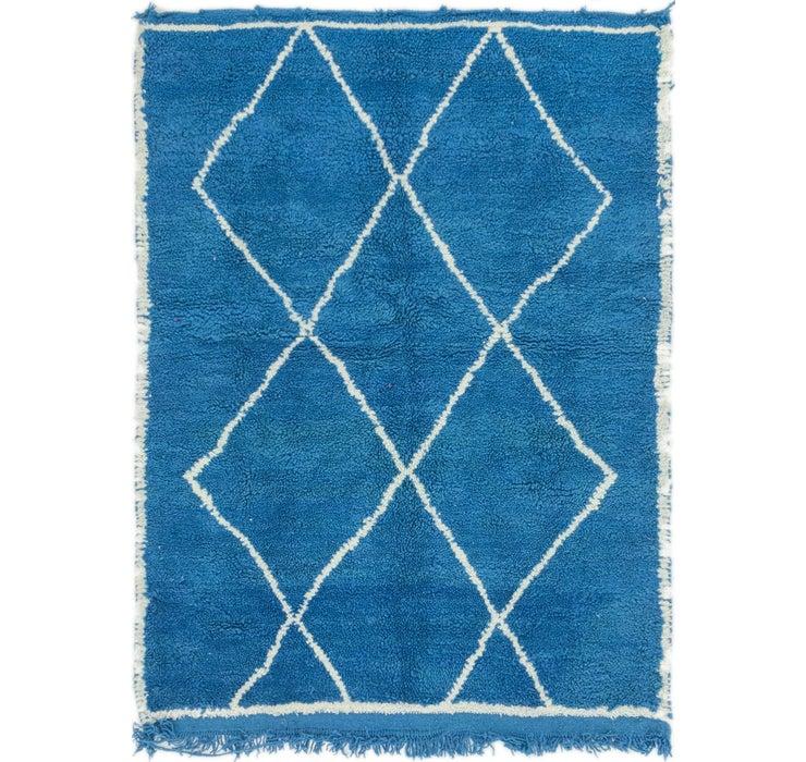 3' 9 x 5' Moroccan Rug