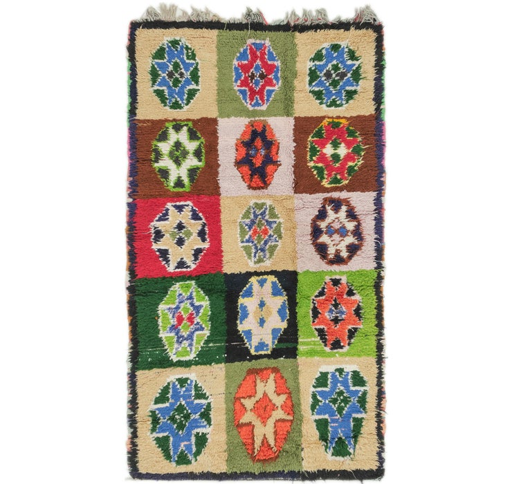 3' 10 x 6' 9 Moroccan Rug