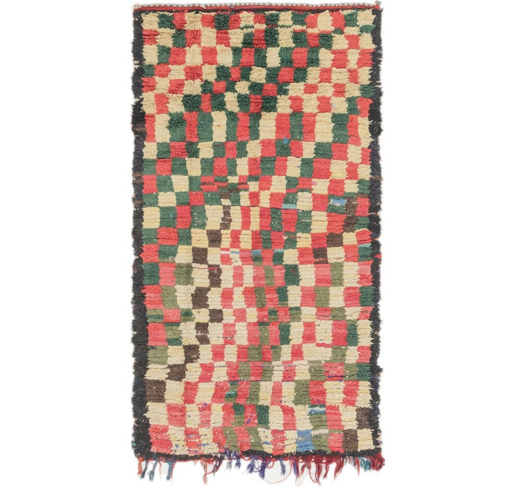 90cm x 173cm Moroccan Rug