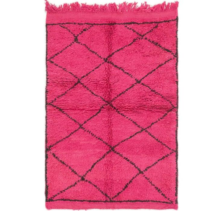 3' 4 x 5' Moroccan Rug