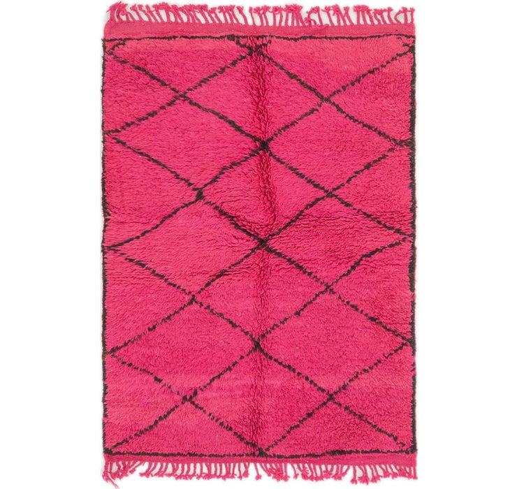 100cm x 145cm Moroccan Rug