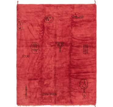 Image of 10' 2 x 13' Moroccan Rug
