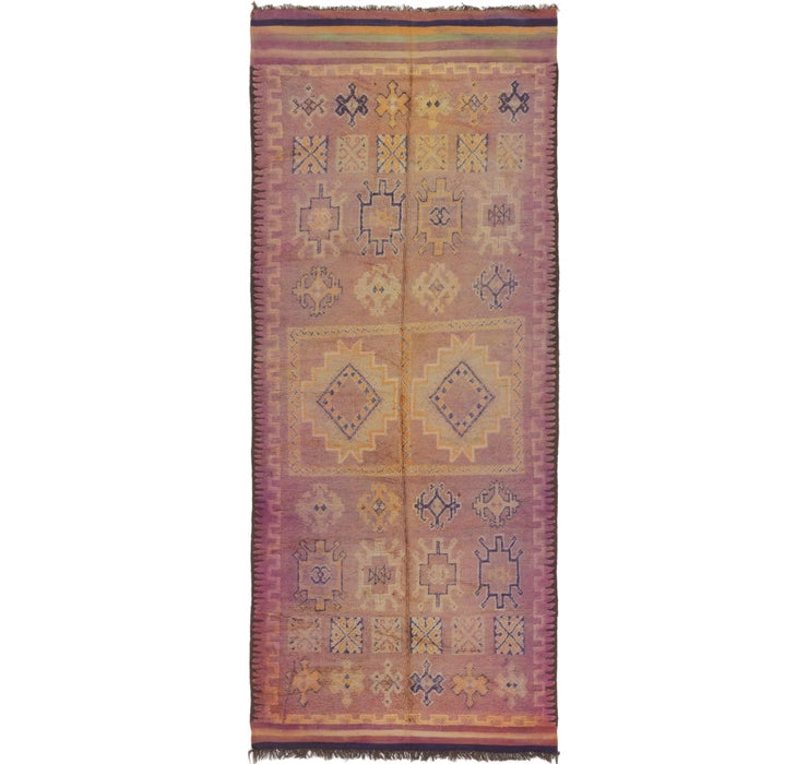 6' 5 x 15' 4 Moroccan Runner Rug