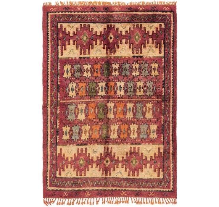 6' 5 x 9' 4 Moroccan Rug