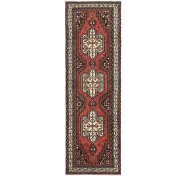 Image of 3' 3 x 10' Mazlaghan Persian Runne...