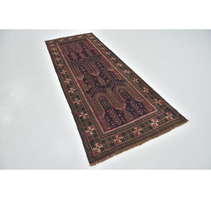 110cm x 270cm Shiraz Persian Runner Rug