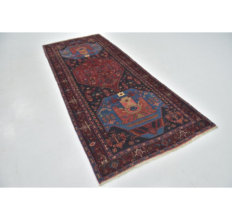 Image of 4' 2 x 10' 2 Gholtogh Persian Runner...
