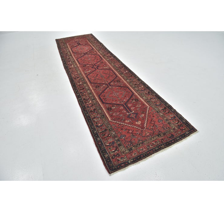 105cm x 395cm Zanjan Persian Runner Rug