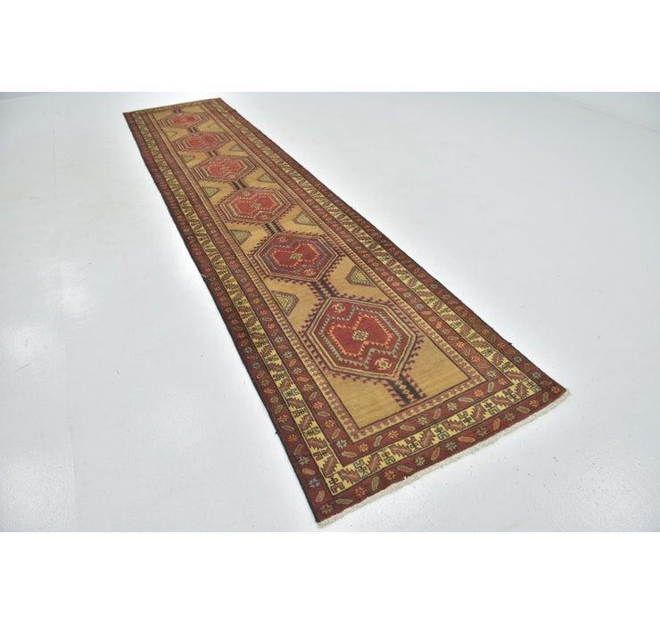 102cm x 457cm Meshkin Persian Rug