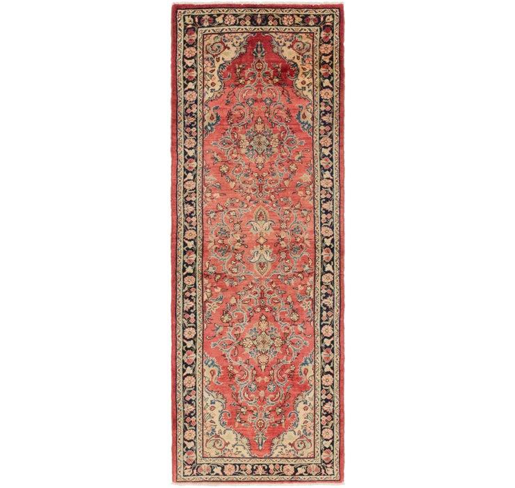 3' 5 x 9' 9 Mahal Persian Runner Rug