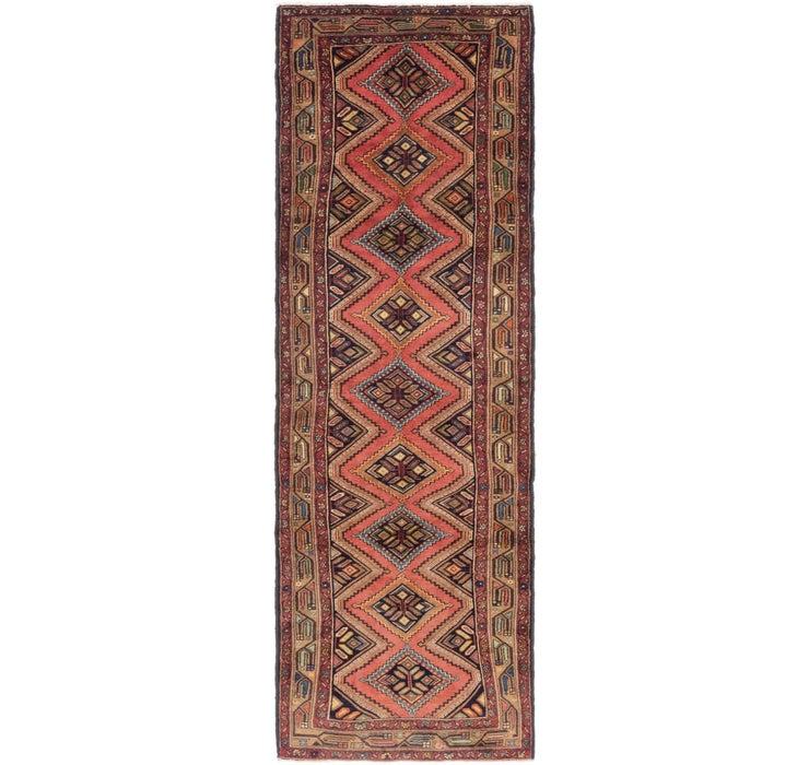 3' 4 x 10' 10 Chenar Persian Runner Rug