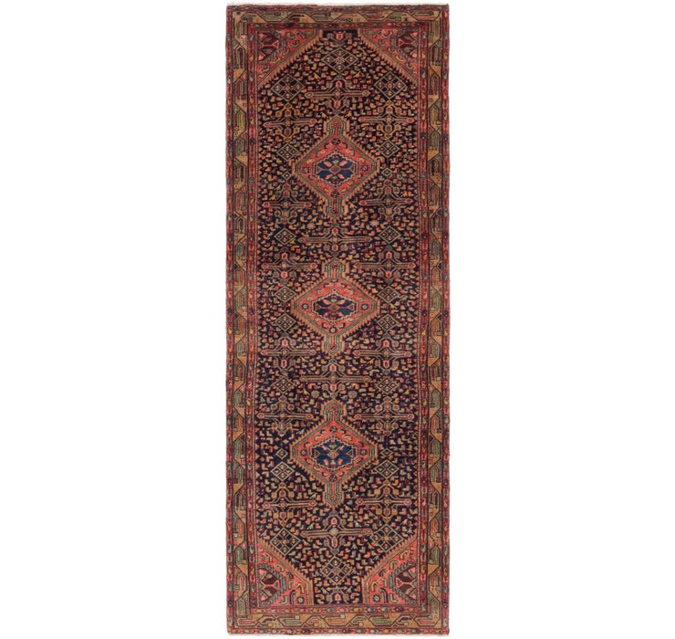 Image of 107cm x 315cm Darjazin Persian Runner...