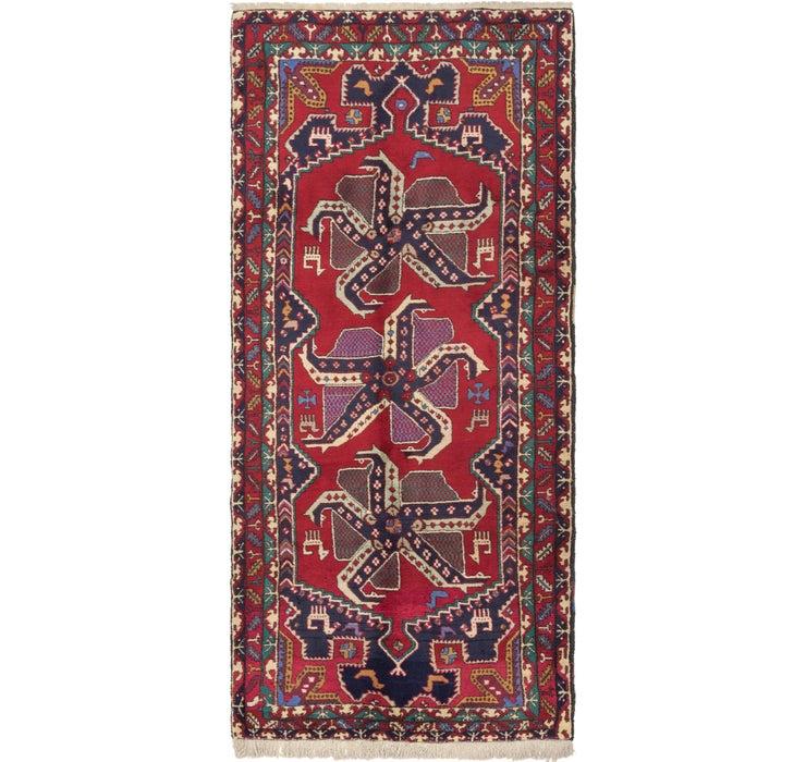 152cm x 335cm Hamedan Persian Runner ...