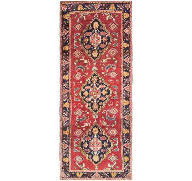 3' 9 x 10' 2 Mahal Persian Runner Rug