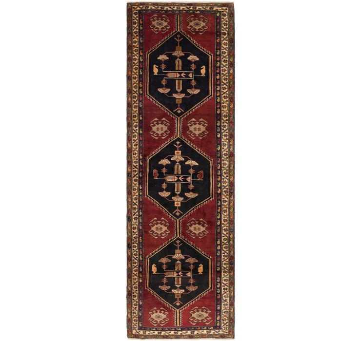 127cm x 427cm Gholtogh Persian Runner...
