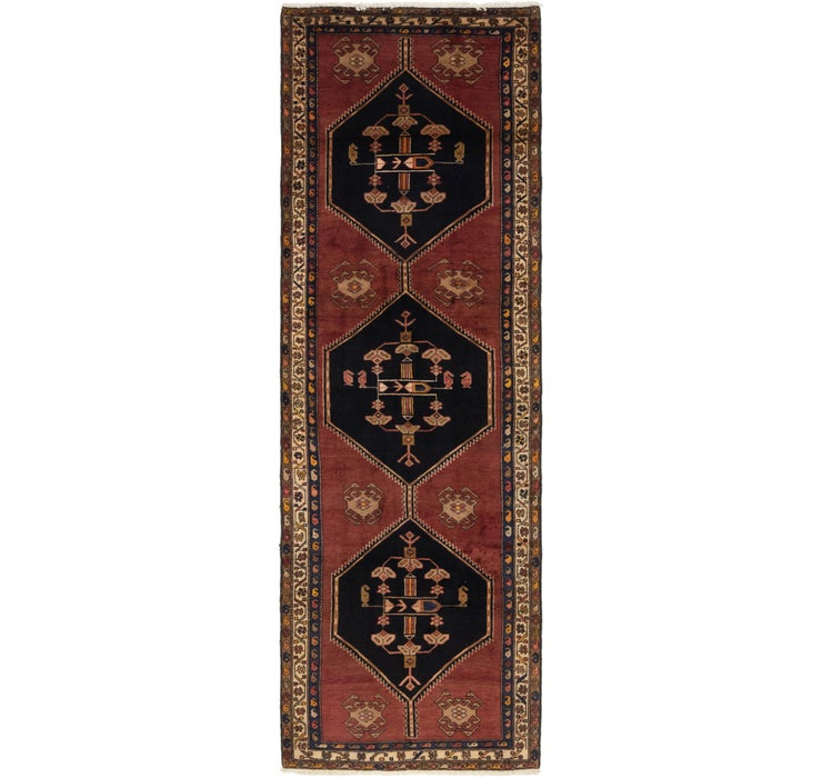 127cm x 405cm Gholtogh Persian Runner...