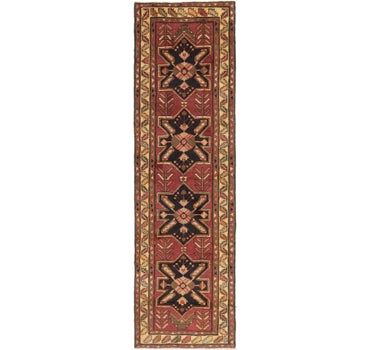 3' 9 x 12' 8 Shiraz Persian Runner Rug main image