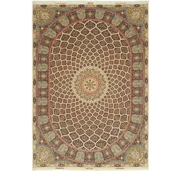 Image of 11' 3 x 16' 3 Tabriz Persian Rug