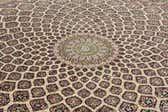 12' 10 x 12' 10 Tabriz Persian Round Rug thumbnail