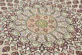13' 3 x 13' 3 Tabriz Persian Round Rug thumbnail