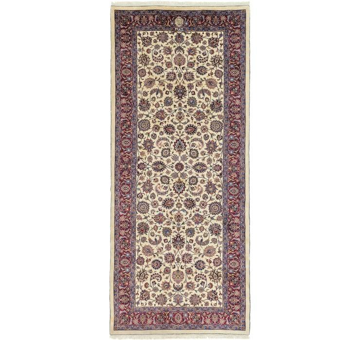 5' 10 x 13' 8 Mashad Persian Runner Rug