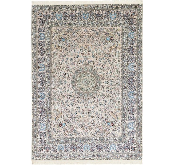 262cm x 370cm Nain Persian Rug