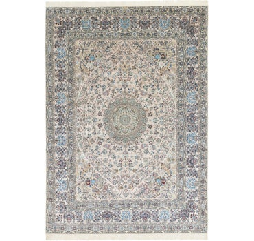 8' 7 x 12' 2 Nain Persian Rug main image