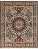 6' 8 x 8' 5 Tabriz Persian Square Rug thumbnail