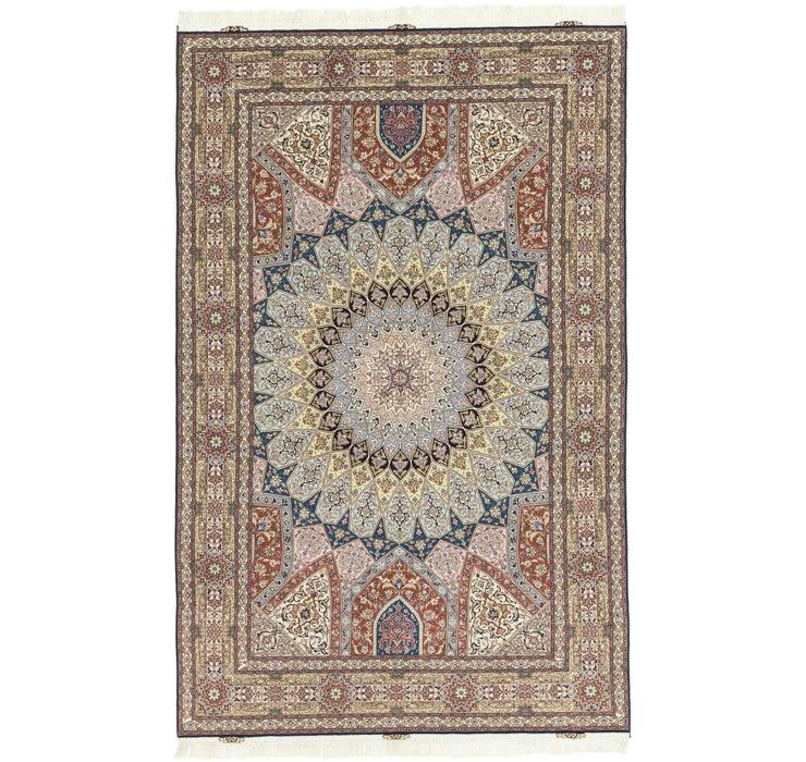 195cm x 307cm Tabriz Persian Rug