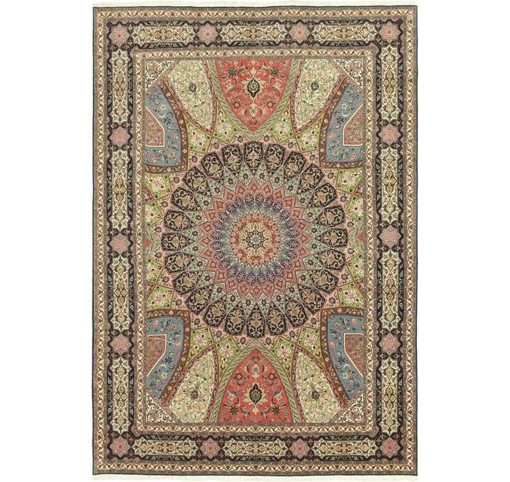 250cm x 360cm Tabriz Persian Rug