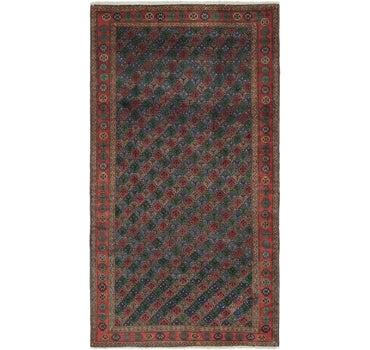 5' 4 x 10' Shiraz Persian Rug main image