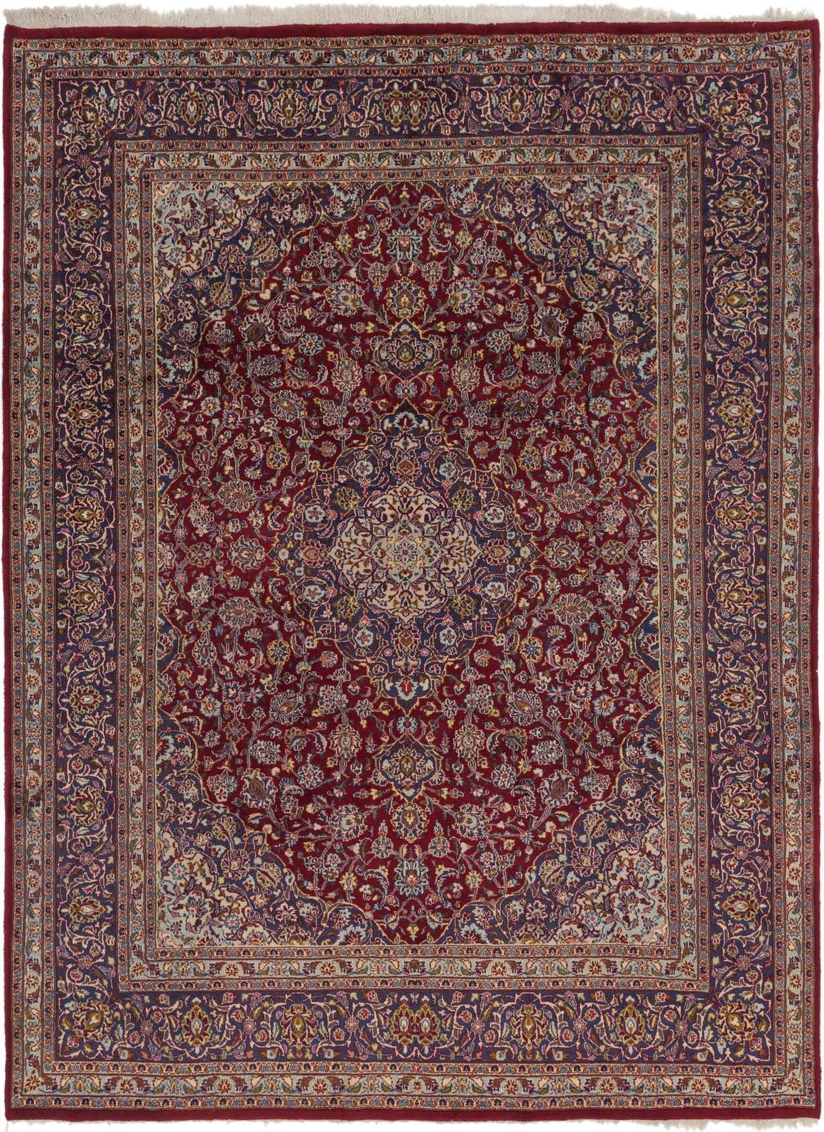 10 X 12 Mashad Persian Rug Erugs