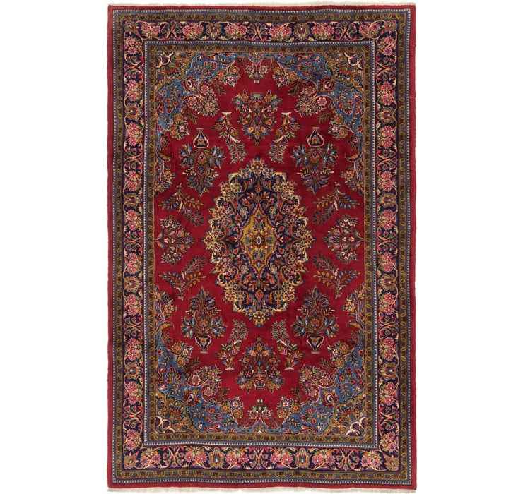 213cm x 335cm Golpayegan Persian Rug