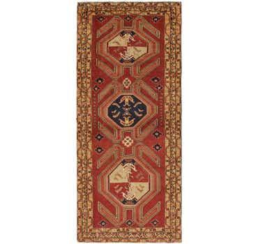 Image of 4' 6 x 10' 9 Ardabil Persian Runner ...