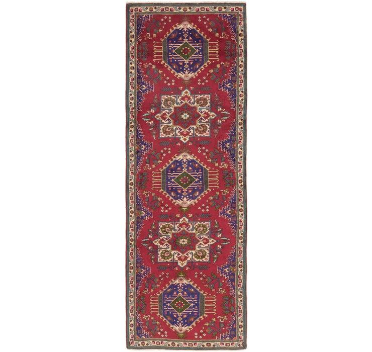 4' x 12' 9 Tabriz Persian Runner Rug