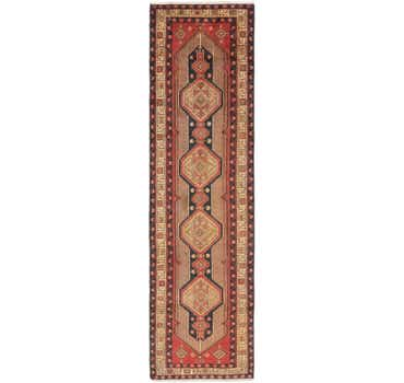 Image of 3' 7 x 13' 2 Meshkin Persian Runner ...