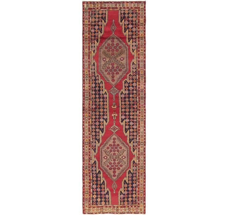 107cm x 390cm Mazlaghan Persian Runne...